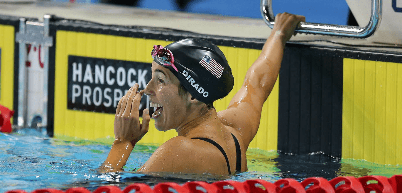 DiRado wins one event, ties for another on opening night of Speedo Grand Challenge