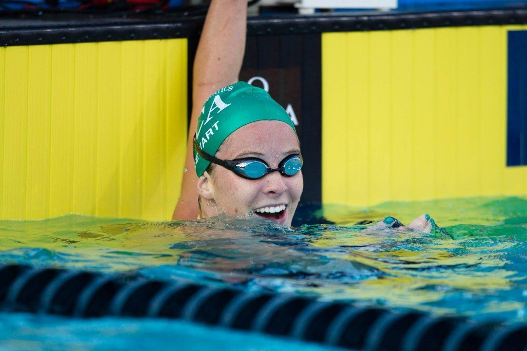 Race Video: Kendyl Stewart Grabs a Second National Title in the Women's 100 m Fly