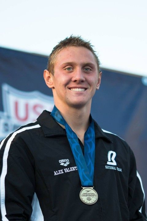 Race Video: Watch Alex Valente Win the Boys' 100 Fly at 2014 U.S. Junior Nationals