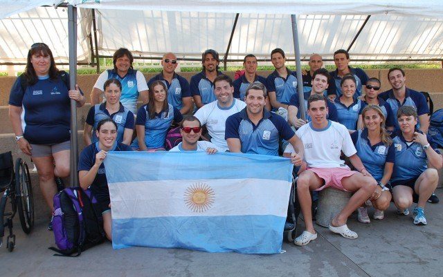 Team Argentina. Photo: Anne Lepesant