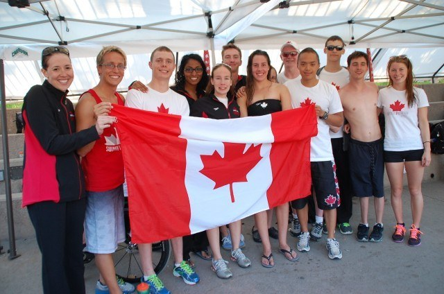 Team Canada. Photo: Anne Lepesant