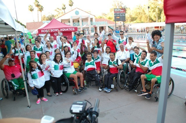 Team Mexico. Photo: Anne Lepesant