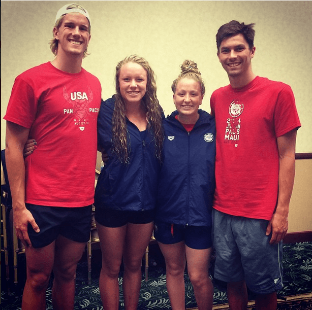 Four Elected as Captains of 2014 Jr. Pan Pacs Team