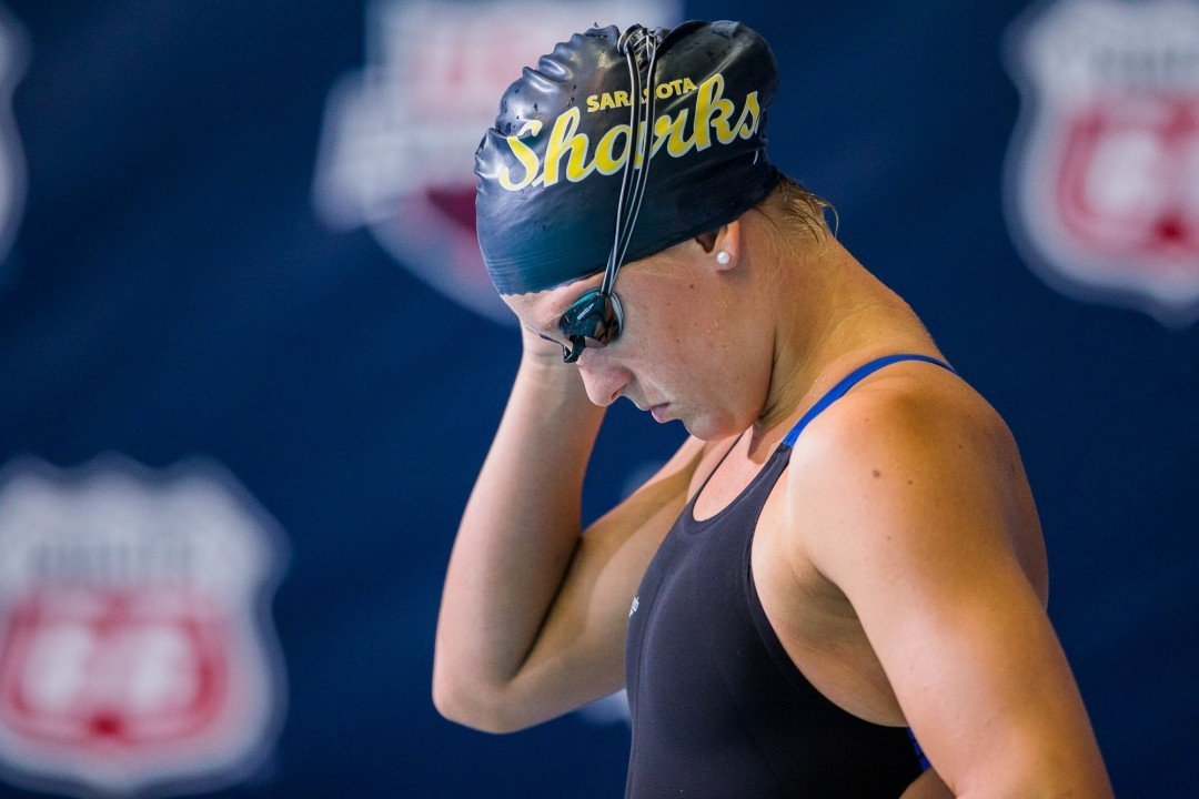 Danielle Valley Named Big Ten Swimmer of the Week