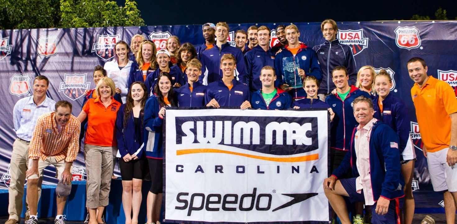 SwimMAC Sweeps Team Awards, Wins Combined Title by Almost 200 Points