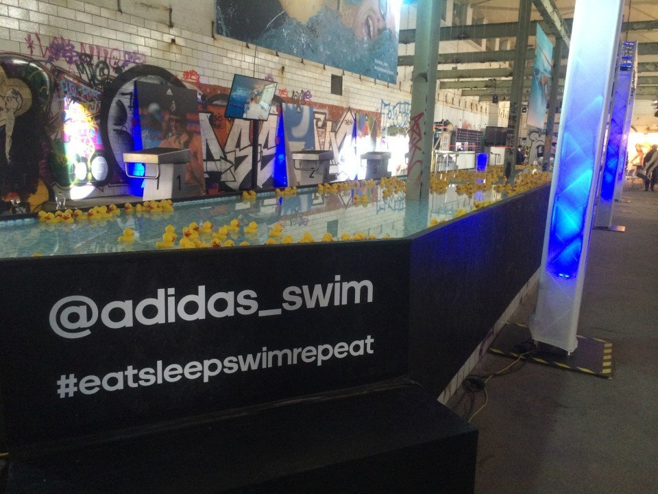 Adidas Swim is #allin and going all out for Berlin Euro Championships