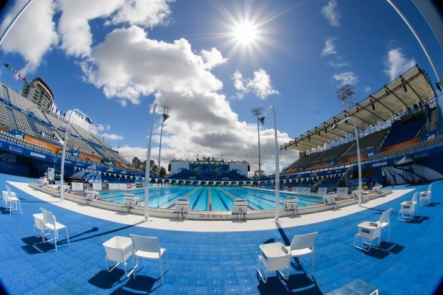 2014 Pan Pacs, Gold Coast Aquatic Center (courtesy of Paul Younan)