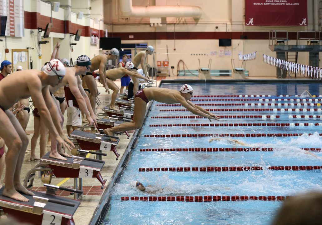 Alabama Crimson Tide Roll Delta State on Strength of Gkolomeev 19.50 in the 50 Free