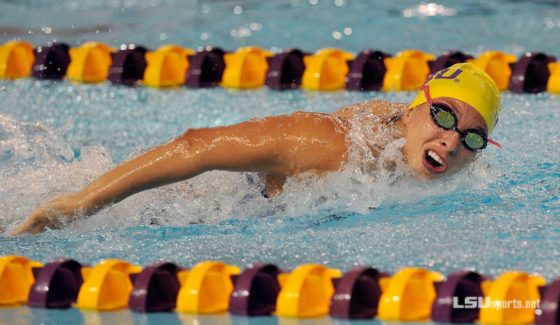 LSU Tigers Open Season With Annual Purple/Gold Meet