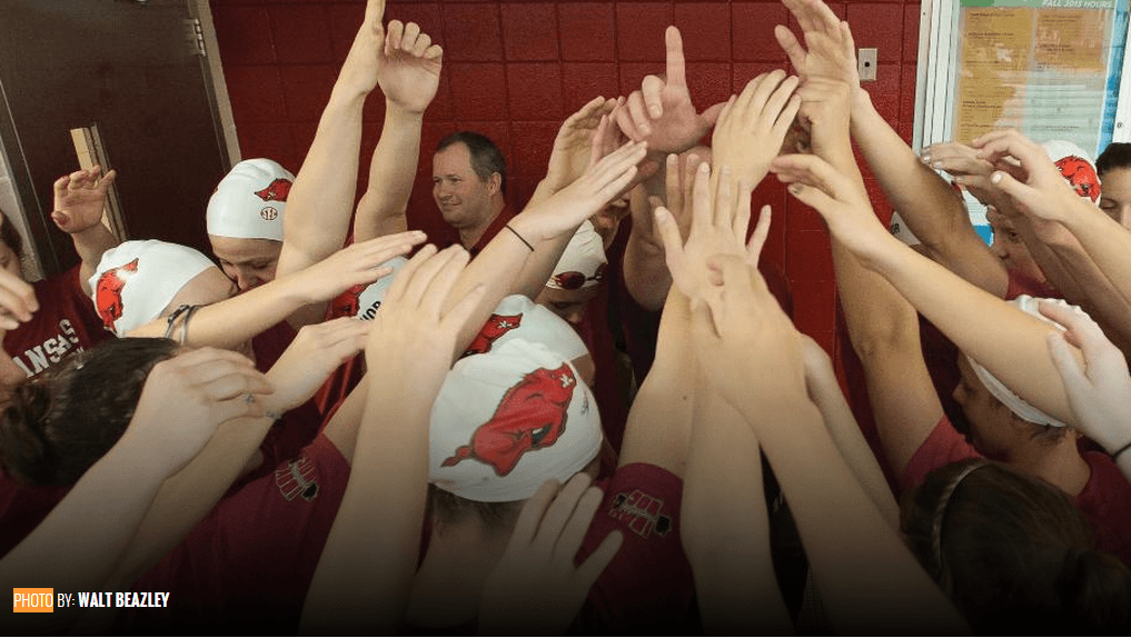 Razorback Women Rule the Pool in Nebraska Duel