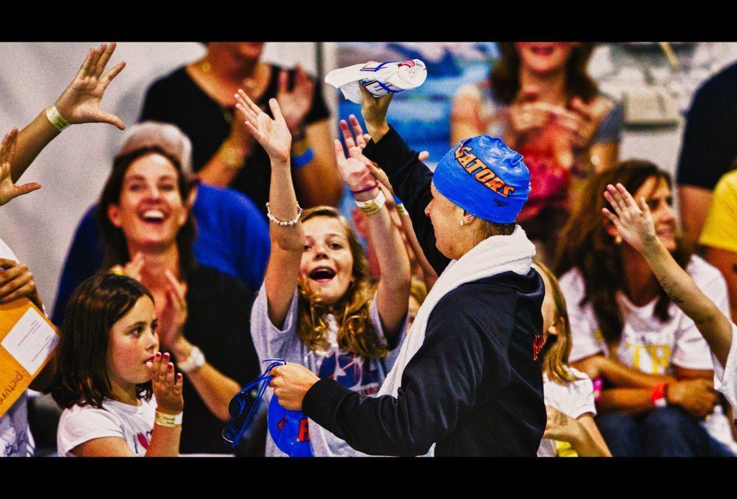 Then-Seniors Beisel, deBorde Named Florida's Most Valuable Swimmers for 2013-2014 Season