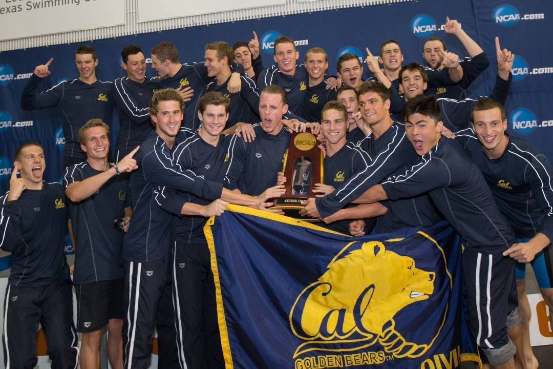 VIDEO: Defending NCAA Champion Cal Golden Bears Men are Back for More