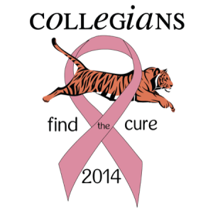 2014 Collegians Find The Cure logo