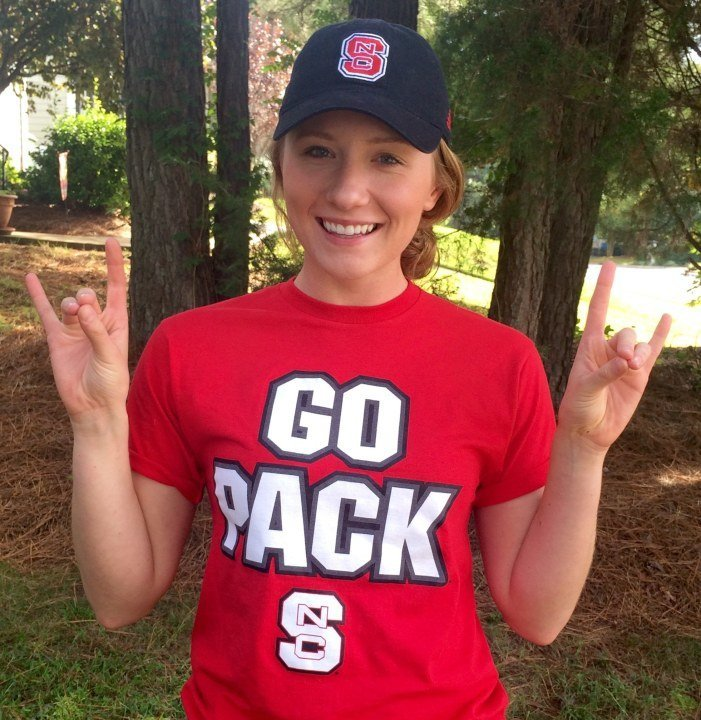 Christine Kerr Makes Another YOTA Swimmer For NC State Wolfpack