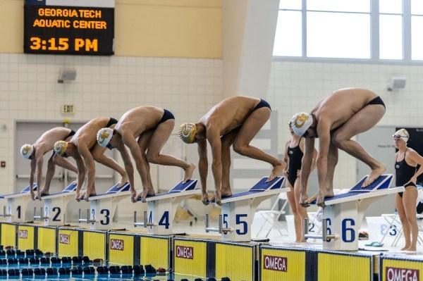 Georgia Tech Freestylers Shine at Annual White/Gold Scrimmage