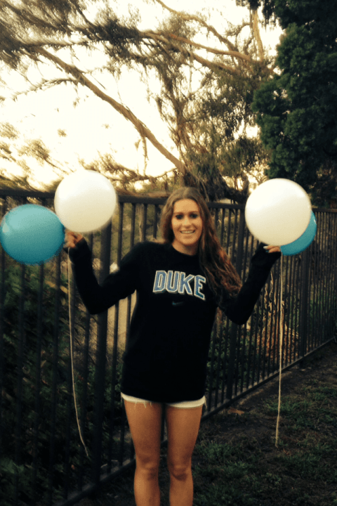Distance Freestyler Brittany Kahn Verbally Commits To The Blue Devils
