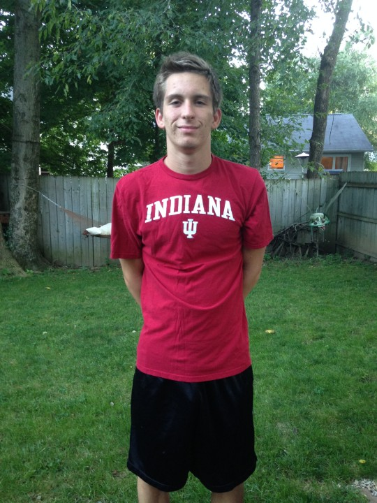 Junior National free relay champ Ian Finnerty to join his relay-mates at Indiana University