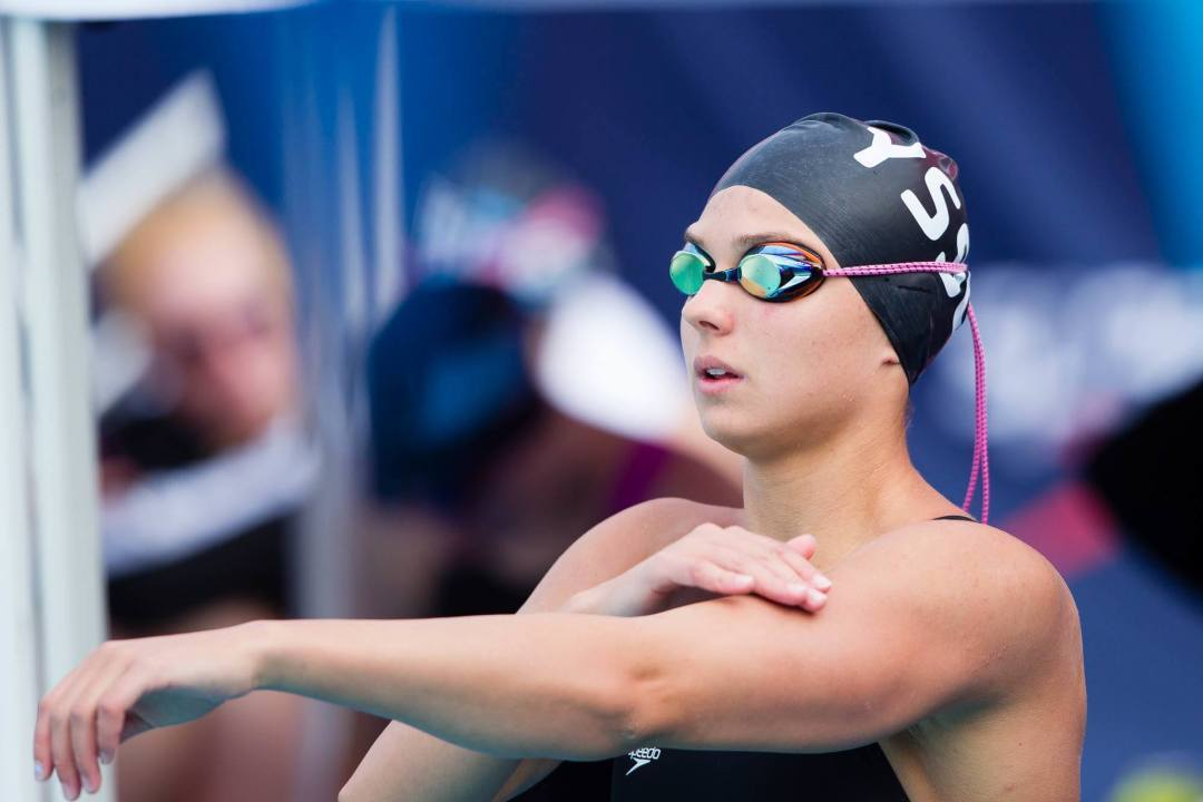Middle Tyger's Katrina Konopka breaks two YMCA national records on night 4 of YNats