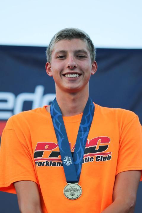1500 Free Junior National Champion Sam Magnan Verbally Commits to Virginia
