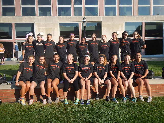 Women's Softball is just one of the many Princeton Varsity teams that came out to support the cause