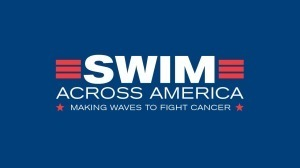 Swim Across America, block logo