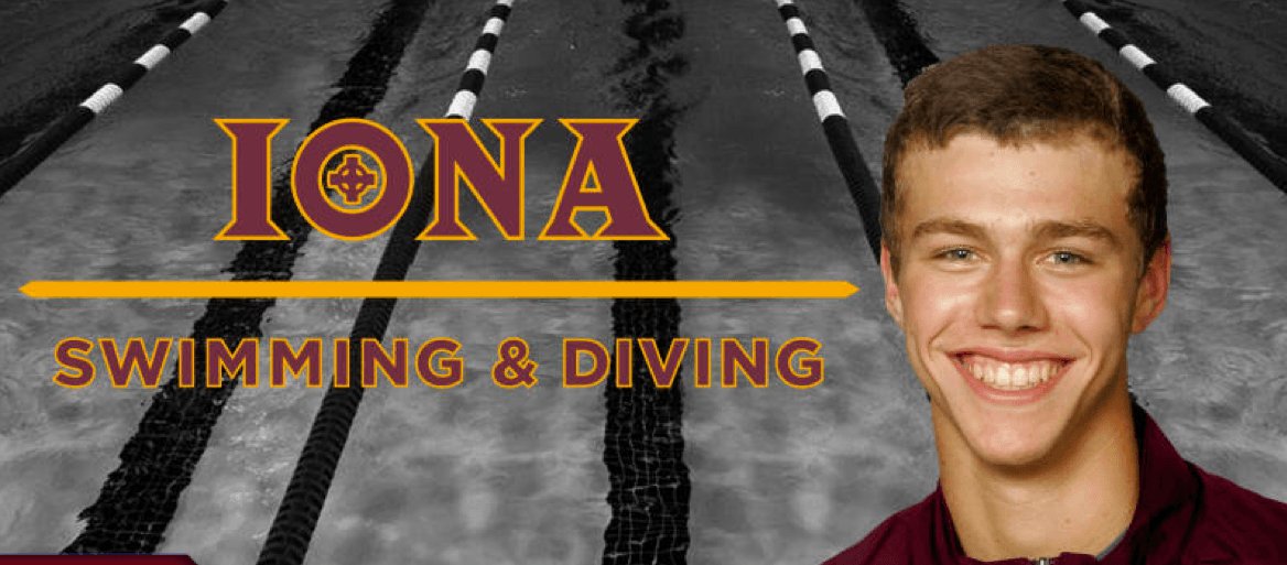 Bradley Schott Named To Iona College Swimming And Diving Coaching Staff