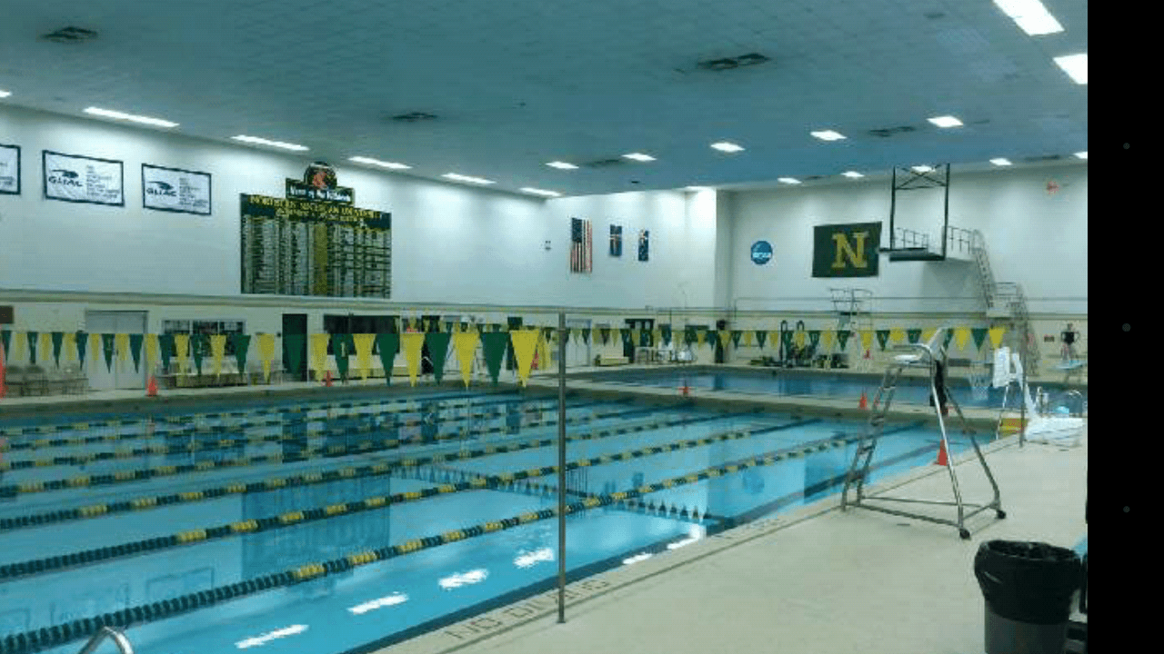 Northern michigan university approves addition of men 39 s swimming University of birmingham swimming pool