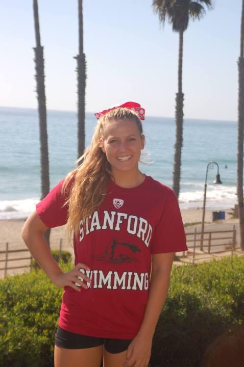 Stanford Reels in San Clemente Sprint Freestyler Kaitlyn Albertoli