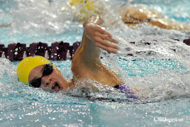 Jane MacDougall. Courtesy of Steve Franz/LSUSports.net.
