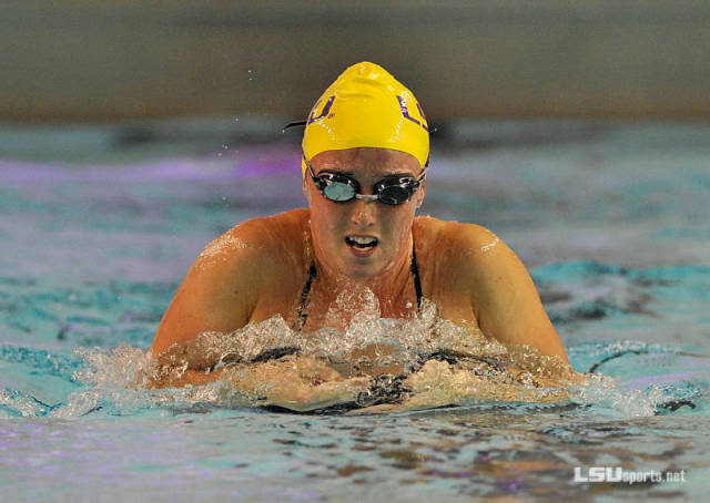 Colleen O'Neil. Courtesy of Steve Franz/LSUSports.net.