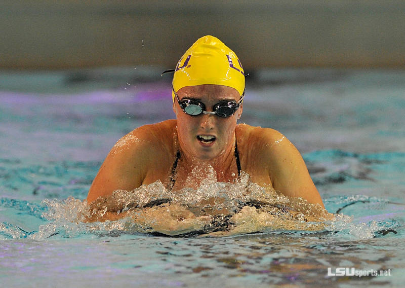 LSU Leads After Fast Night at the SMU Classic