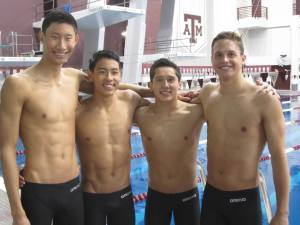 AZOT's 2014 NAG record-breaking 200 and 400 medley relay