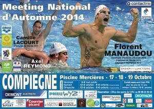 Affiche meeting nationale automne 2014 Compiègne