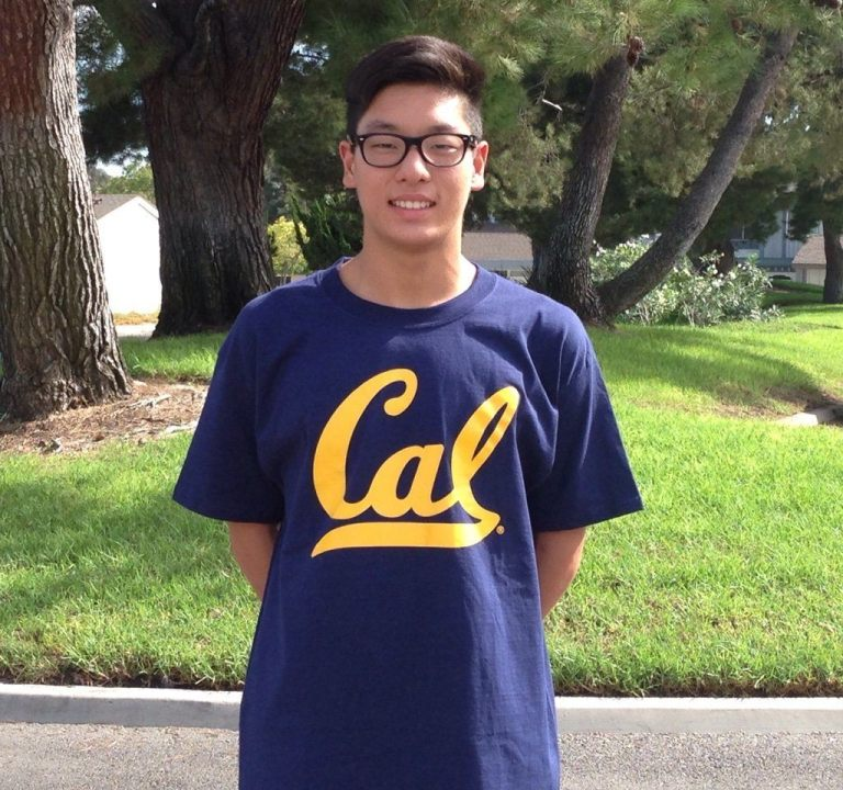 Ken Takahashi of AquaZot Swim Club and Irvine's University High Makes His Choice: California Golden Bears