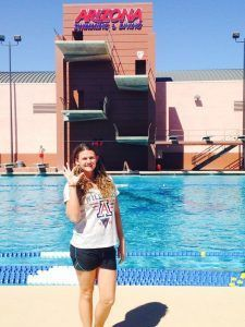 Daniela Georges has verbally committed to the University of Arizona.