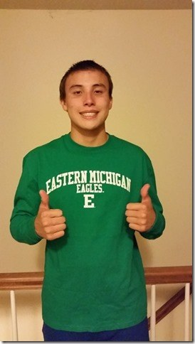 North Carolina's Tosh Kawaguchi Verbally Commits to Eastern Michigan