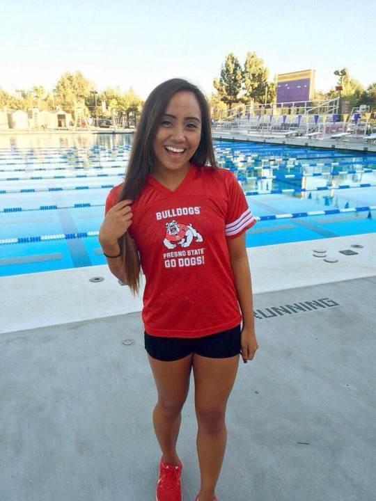 Fresno State Gets Verbal Commitment from Backstroker/Butterflier Gabbie Libang