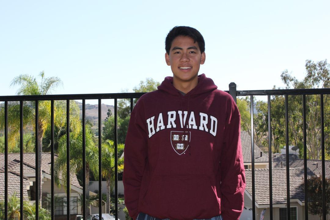 Backstroker Danny Tran of Irvine, California Gives Verbal Commitment to Harvard