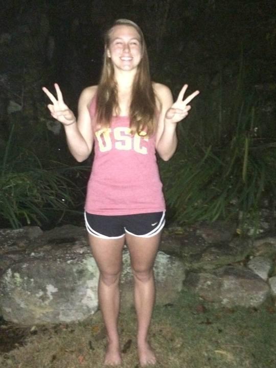Dynamo Swim Club's Katie Christy Verbally Commits to USC