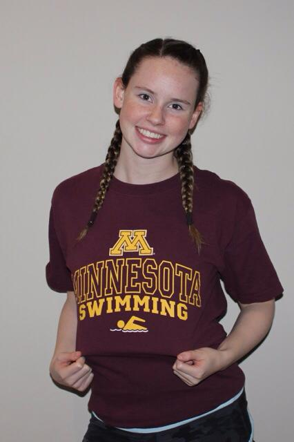Canadian Lauren Lalumiere From Oakville Aquatic Club Gives Verbal To Minnesota