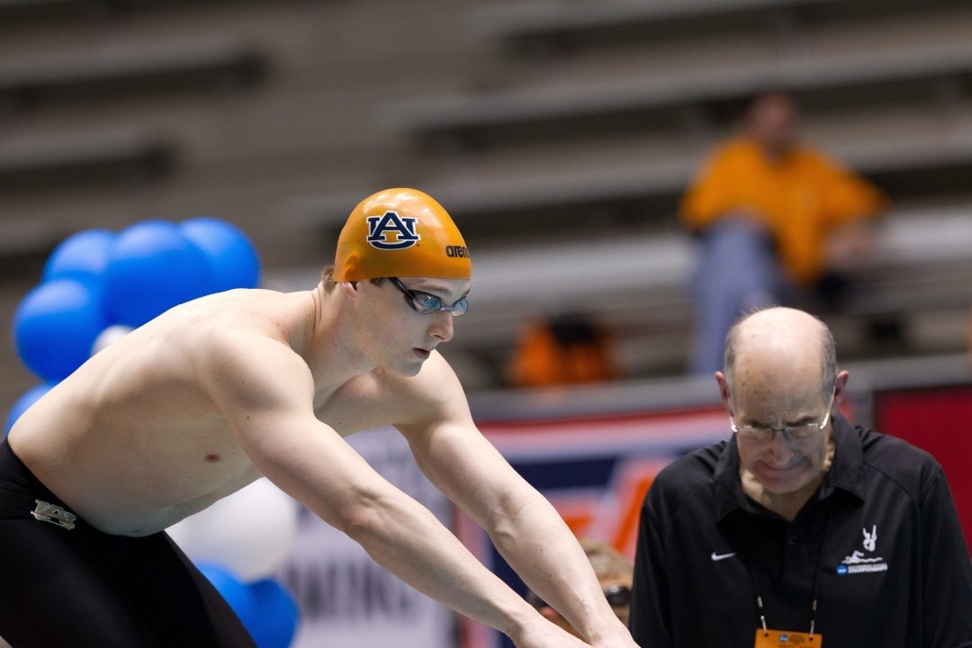 Former Auburn Captain TJ Leon Named Finalist for Rhodes Scholarship