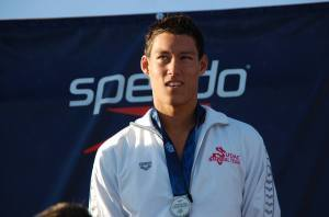 Michael Thomas, 2nd place, 200 fly, 2014 Juniors