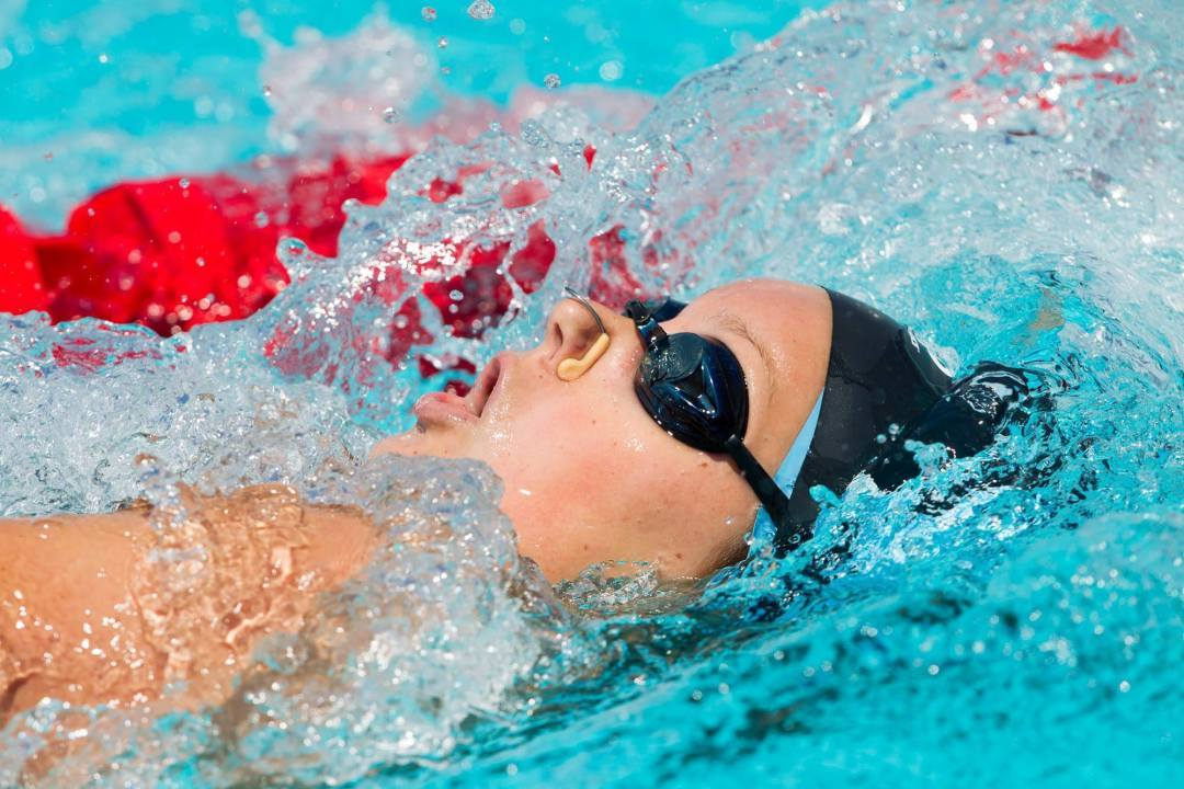 Moffitt Swims Lifetime Best, Nation Leader to Lead UNC to Sweep of Tennessee