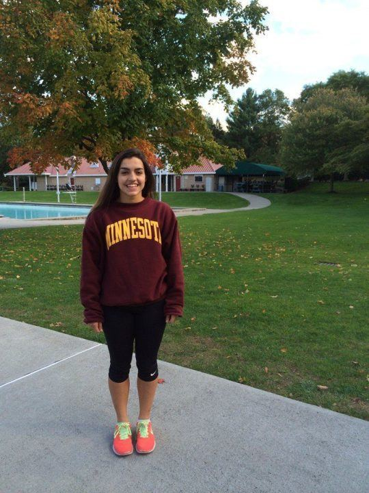 Minnesota Women Land Another Breaststroke Commit: Nicki Ciavarella