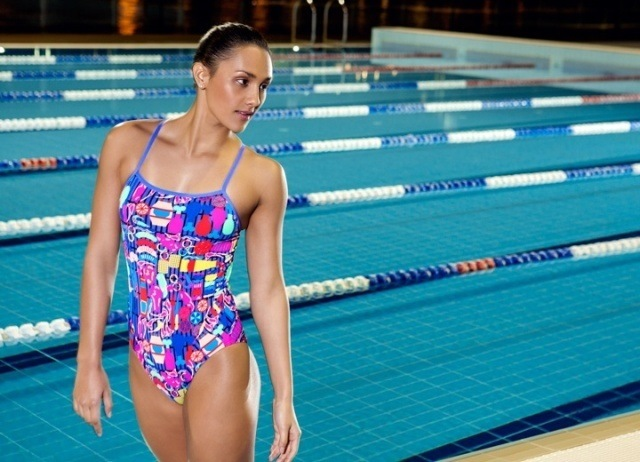 Funkita has taken the love of the Australian outdoor lifestyle very literally, with the Barbie Boss print capturing the Aussie barbeque in all its colour.