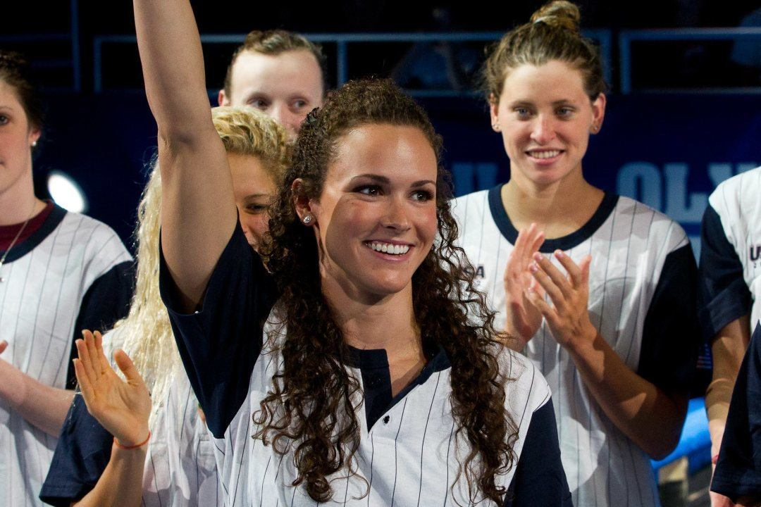 2012 U.S. Olympic Gold Medalist Lauren Perdue Retires After Battling Back, Elbow Injuries