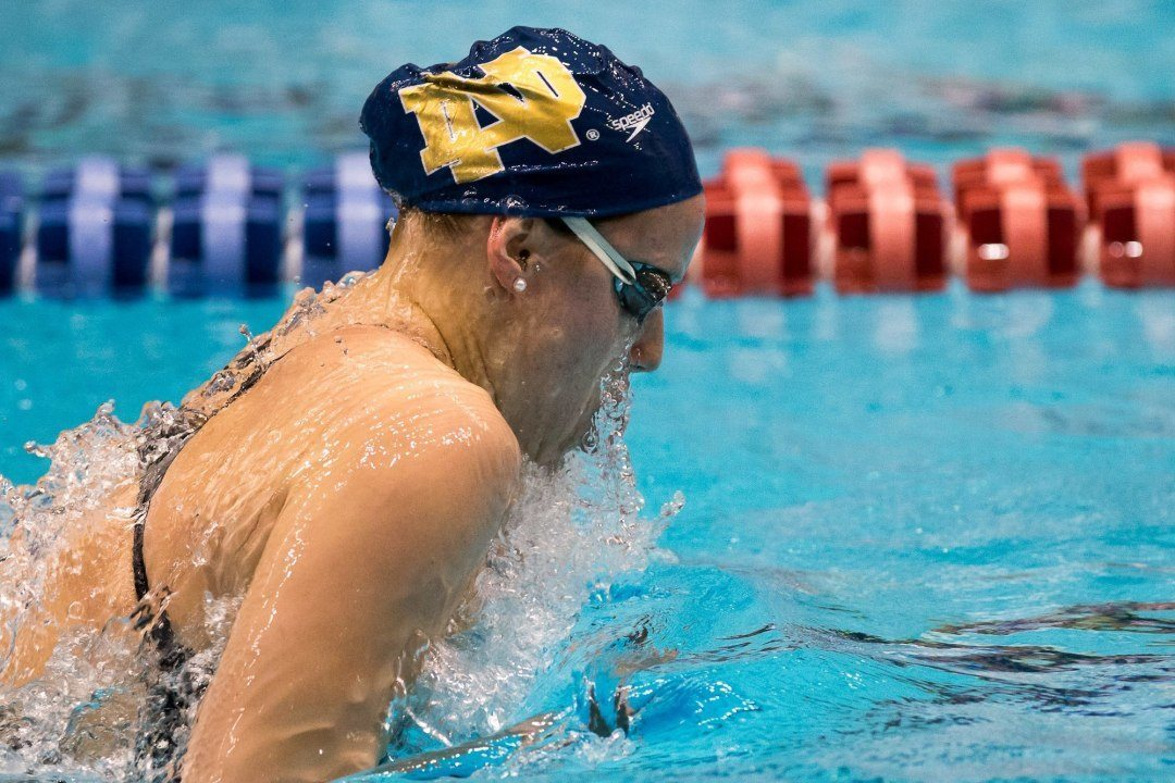 Emma Reaney's Four Victories Leads Notre Dame Over Michigan State