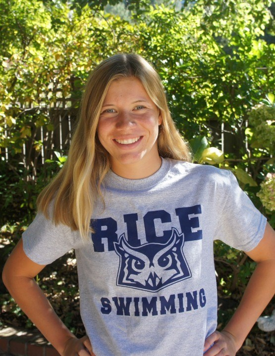Rice University Gets Verbal from Breaststroker Marie-Claire Schillinger