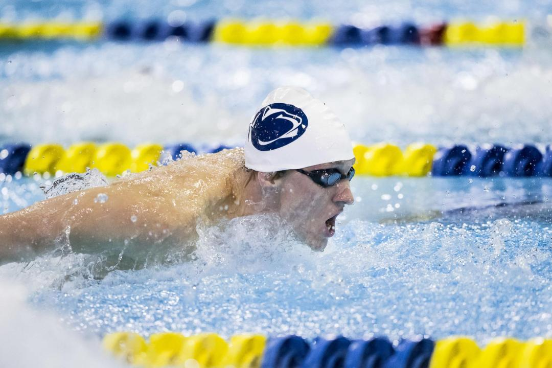 Shane Ryan Eclipses Ben Hesen's Big Ten 100 Back Record