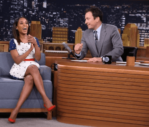 The Tonight Show Starring Jimmy Fallon, Kerry Washington